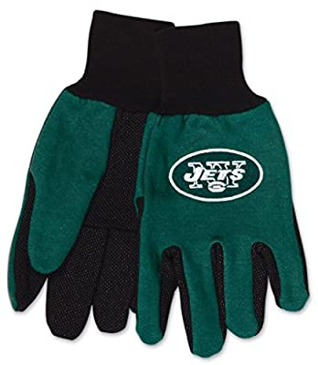 New York Jets Youth Size Two Tone Gloves