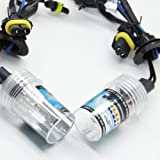 EiioX 2 X H1 8000K 35W HID Xenon Foglight Headlight Light Lamp Bulbs replacement