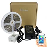 Fishidea-LED-Strip-Lighting-5050-RGB-Mutil-Color-with-Bluetooth-Controller-by-APP-for-Andriod-IOS