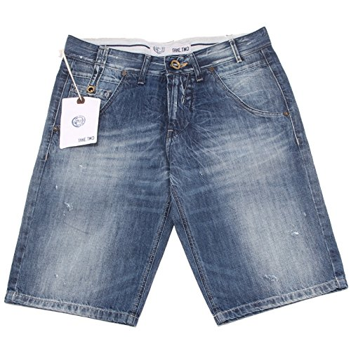 bermuda TAKE TWO jeans pantaloni uomo shorts men 37083 [29]