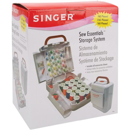 Learn More About Singer Sew Essentials Storage System, 165 Pieces
