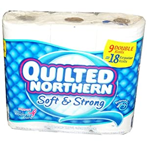 Quilted Northern Bath Tissue Jumbo Rolls - 9 Rolls