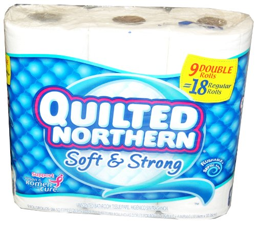 Quilted Northern Bath Tissue Jumbo Rolls 9 Rolls