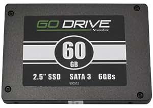 VisionTek GoDrive SSD 60GB High Performance SATA III 6.0Gb/s 2.5-Inch Solid State Drive (900510)