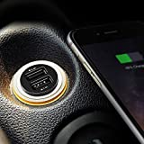 Aukey CC-S1 4.8A Dual USB Car Charger for Smartphones - Black
