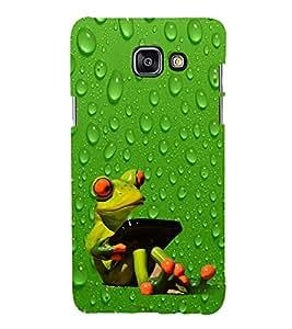 Funny Frog 3D Hard Polycarbonate Designer Back Case Cover for Samsung Galaxy A7 (2016) :: Samsung Galaxy A7 2016 Duos :: Samsung Galaxy A7 2016 A710F A710M A710FD A7100 A710Y :: Samsung Galaxy A7 A710 2016 Edition