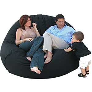 Amazon Com Cozy Sack 7 Feet Bean Bag Chair X Large