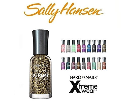 10-Sally-Hansen-Hard-as-Nails-Xtreme-Wear-10-Fingernail-Polishs-All-Different-Colors-No-Repeats