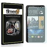 3 x Filmex Screen Protectors for HTC Desire 516 - Transparent, Premium Quality Japan PET material, Installation Kit, Lifetime Warranty