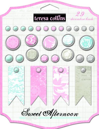 Diseño de Afternoon Teresa Collins Designs juego de encuadernadores decorativo
