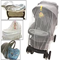 Crocnfrog Baby Mosquito Net For Strollers, Carriers, Cradles, Car Seats. Designed For Cribs, Bassinets, Most Pack'n'Plays...