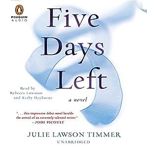 Five Days Left Audiobook