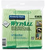 "Kimberly-Clark Professional KIM83620 WYPALL Cloths with Microban Microfiber 15-3/4"" x 15-3/4"" Blue 6/Pack,"