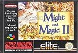 echange, troc Might and magic II - Super Nintendo - PAL