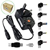 ZOZOUniversal-12W-3V-45V-5V-6V-75V-9V-12V-1A-1000mA-Regulated-Multi-Voltage-Switching-Replacement-Power-Supply-Adapter-Charger-PSU-for-Household-Electronic-Devices-Routers-Speakers-LCD-CCTV-Cameras-TV