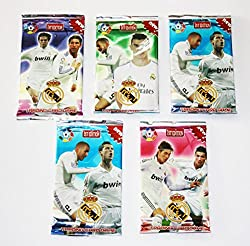 Noor Football Trading Card Game- 5 Packs (Random) - Basic Cards (Non Licensed)