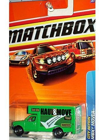 Matchbox 2010 MBX Mover, City Action # 61/100, 1:64 Scale. - 1