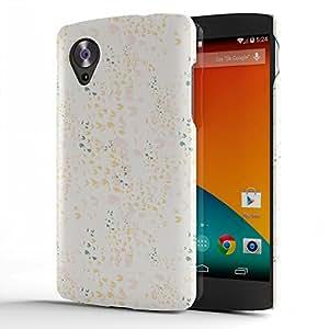 Koveru Designer Protective Back Shell Case Cover for Google Nexus 5, LG Nexus 5 - Light Colour Pattern