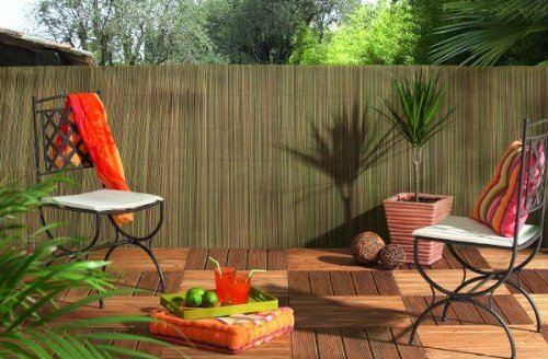Natural Reedcane Screening Panel Fencing 1m x 5m