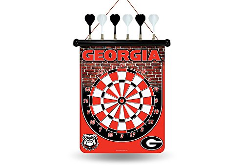 NCAA Georgia Bulldogs Magnetic Dart Board (Bulldog Dart Board compare prices)