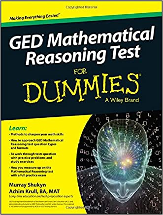 GED Mathematical Reasoning Test For Dummies