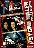 Maniac, House on the Edge of the Park, The new york ripper. 3 Disc box set - Uncut Versions -