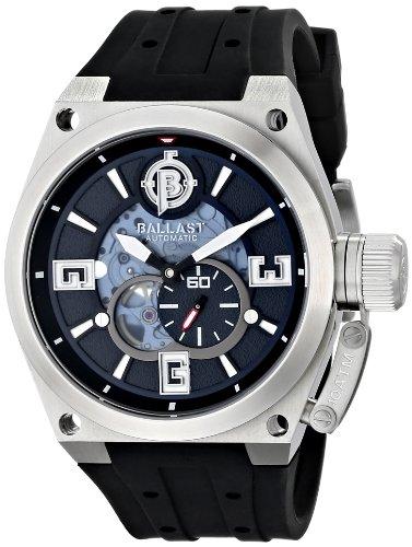 Ballast Men's BL-3129-03 Valiant Automatic Analog Display Japanese Automatic Black Watch