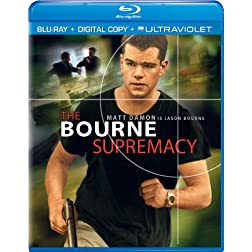 The Bourne Supremacy (Blu-ray + Digital Copy + UltraViolet)