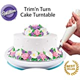 Wilton Trim-N-Turn Ultra Rotating Cake Stand (1, Turntable)