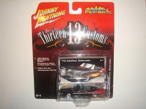 2005 Johnny Lightning Street Freaks 13 Customs '73 Cadillac Eldorado Black #2