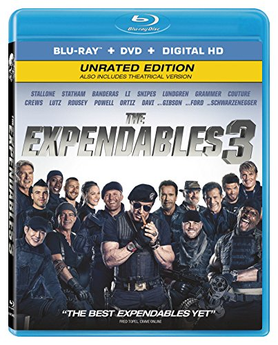 Blu-ray : The Expendables 3 (2 Pack, 2 Disc)