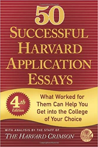 50 successful harvard essays
