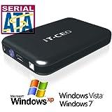 "IT735U3 e-SATA / USB 3.0 External Hard Drive Enclosure for 3.5"" SATA HDD w/ USB3 & e-SATA Cables"
