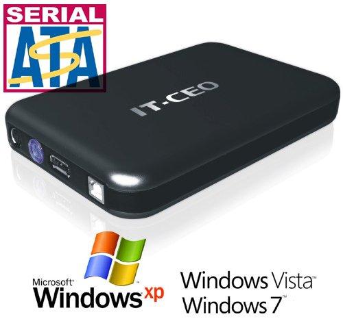 IT735U3 e-SATA / USB 3.0 External Hard Drive Enclosure for 3.5