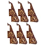 6 Pcs Cinnamon Pearl 3PLY New-Pickguard For Les Paul Standard