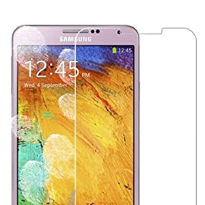 iClover Premium Tempered Glass Screen Protector Film for Samsung Galaxy Note 3 III N9000-Ship From US