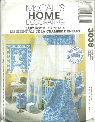 McCall&#039;s 3038 - Baby Room Essentials : McCall&#039;s Home Decorating