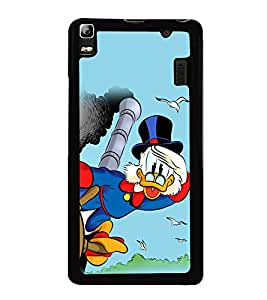 printtech Uncle Scrooge Disney Back Case Cover for Lenovo A7000