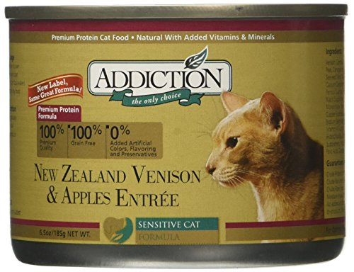 Addiction New Zealand Venison & Apples Entrée