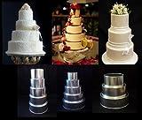 Round Cake Baking Tins - 3 Tier - 4