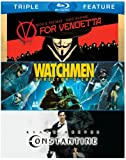 V for Vendetta & Watchmen & Constantine [Blu-ray] [US Import]