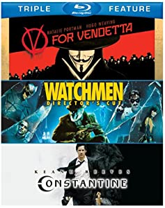 V for Vendetta / Watchmen / Constantine (Triple-Feature) [Blu-ray]