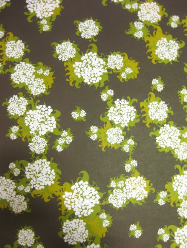Decorative Paper - Brown Floral - Soap and Paper Co. - Gift Wrap