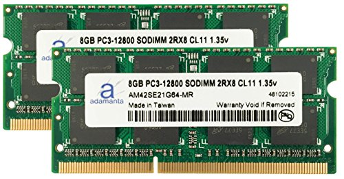 Click to buy Adamanta 16GB (2x8GB) Laptop Memory Upgrade For Lenovo G505s DDR3 1600Mhz PC3-12800 SODIMM 2Rx8 CL11 1.35v Notebook RAM - From only $131.98