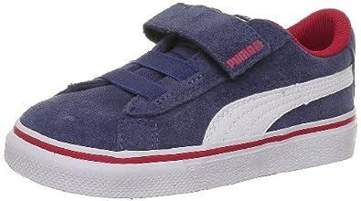 Puma Puma S Vulc V Kids 350731 Unisex-Kinder Sneaker Blau (dark denim-white-team reg 24) 20