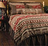 Adirondack King 7 Piece Bedding Ensemble By Carstens Home Collection