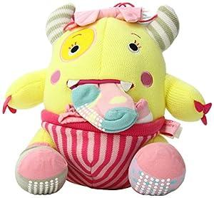 Beb- Aspen BA11035PK - Tr-bol del monstruo del armario - Calcetines de punto para beb-s y Monster felpa Juego de regalo - BebeHogar.com