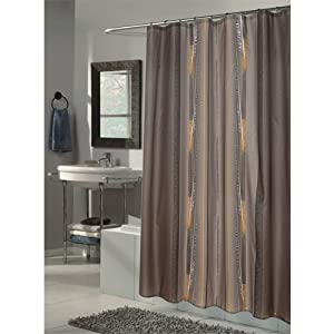 Carnation Home Fashions, Inc Carnation Home Fashions Catherine Extra Long Printed Fabric Shower Curtain, 72-Inch by 84-Inch at Sears.com