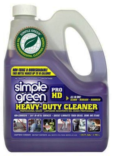 Simple Green 13421 Pro HD Heavy Duty Cleaner, 1 Gallon Bottle (Wood Deck Cleaner compare prices)