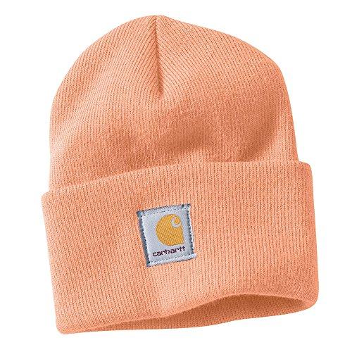 carhartt-womens-acrylic-rib-knit-watch-hat-fresh-peach-one-size